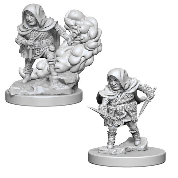 D&D Nolzur's Marvelous Miniatures: Male Halfling Rogue (Wave 1)