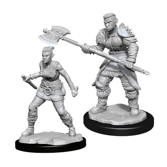 D&D Nolzur's Marvelous Miniatures: Female Orc Barbarian (Wave 13)
