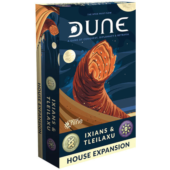 Dune Board Game: Ixians & Tleilaxu House Expansion