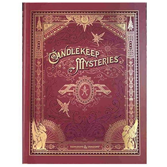 Dungeons & Dragons 5E: Candlekeep Mysteries (Alternate Cover)