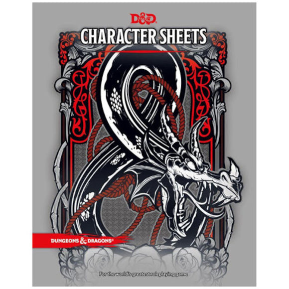 Dungeons & Dragons 5E: Character Sheets