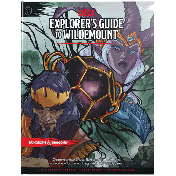 Dungeons & Dragons 5E: Explorer's Guide to Wildemount