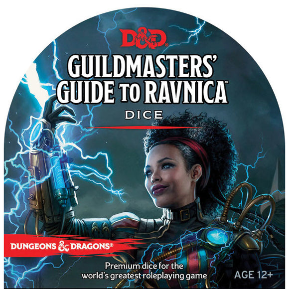 Dungeons & Dragons 5E: Guildmasters' Guide to Ravnica - Dice Set