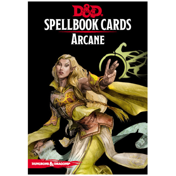 Dungeons & Dragons 5E: Spellbook Cards - Arcane