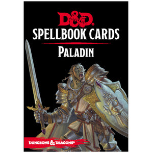 Dungeons & Dragons 5E: Spellbook Cards - Paladin