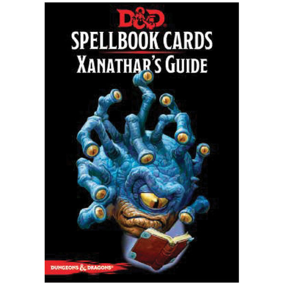 Dungeons & Dragons 5E: Spellbook Cards - Xanathar's Guide to Everything
