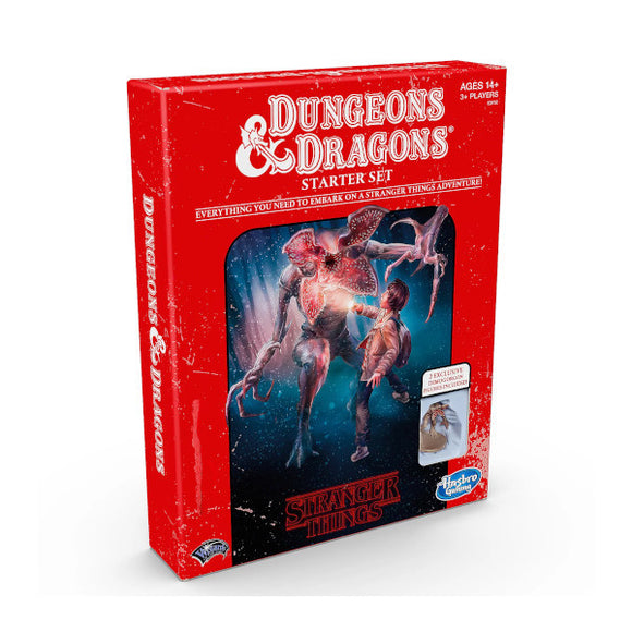 Dungeons & Dragons 5E: Stranger Things Starter Set