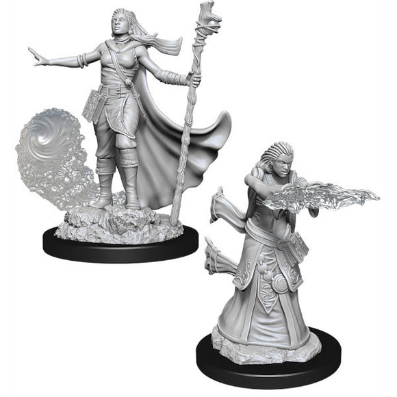 D&D Nolzur's Marvelous Miniatures: Female Human Wizard (Wave 11)