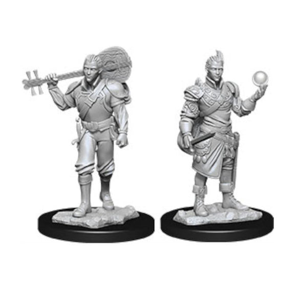 D&D Nolzur's Marvelous Miniatures: Male Half-Elf Bard (Wave 12)
