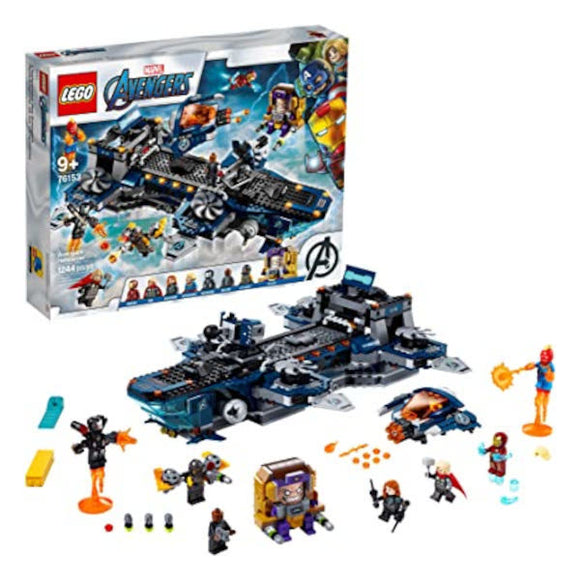Lego: Marvel Super Heroes Avengers Helicarrier - 1244 Pieces