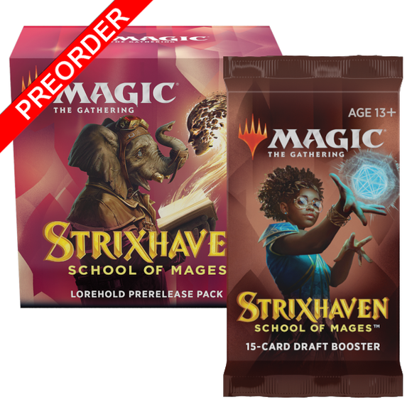 Magic the Gathering: Strixhaven: School of Mages - Prerelease Pack & Bonus Booster Pack