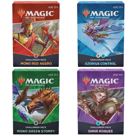 Magic the Gathering: Challenger Decks 2021 (Set of 4)