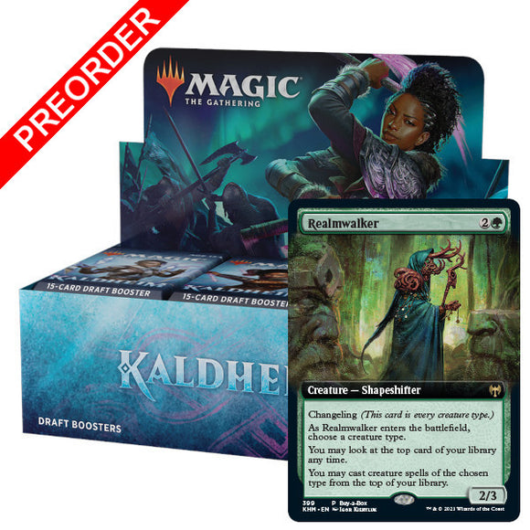 Magic the Gathering: Kaldheim - Booster Box & Buy-a-Box Promo