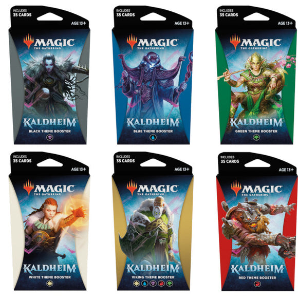 Magic the Gathering: Kaldheim - Theme Booster (Set of 6)