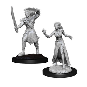 Magic the Gathering Unpainted Miniatures: Vampire Lacerator & Vampire Hexmage (Wave 13)