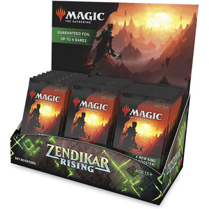 Magic the Gathering: Zendikar Rising - Set Booster Box