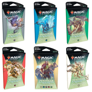 Magic the Gathering: Zendikar Rising - Theme Booster (Set of 6)
