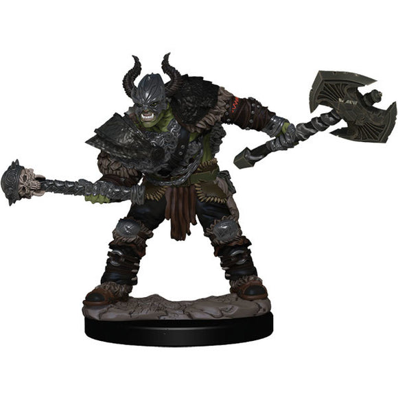 Pathfinder Battles: Premium Figures - Half-Orc Barbarian Male (Wave 1)