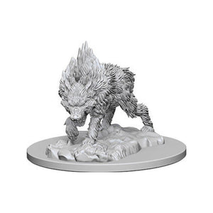 Pathfinder Deep Cuts Miniatures: Dire Wolf (Wave 4)