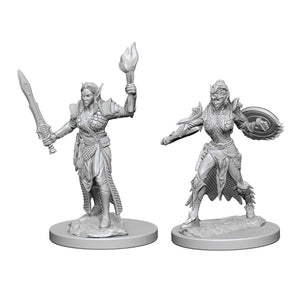 Pathfinder Deep Cuts Miniatures: Female Elf Fighter (Wave 1)