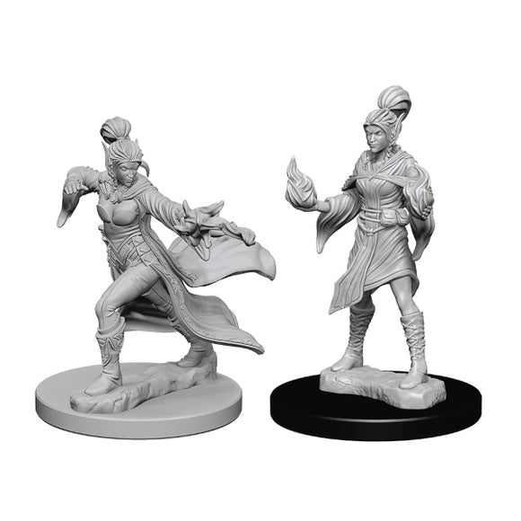 Pathfinder Deep Cuts Miniatures: Female Elf Sorcerer (Wave 1)