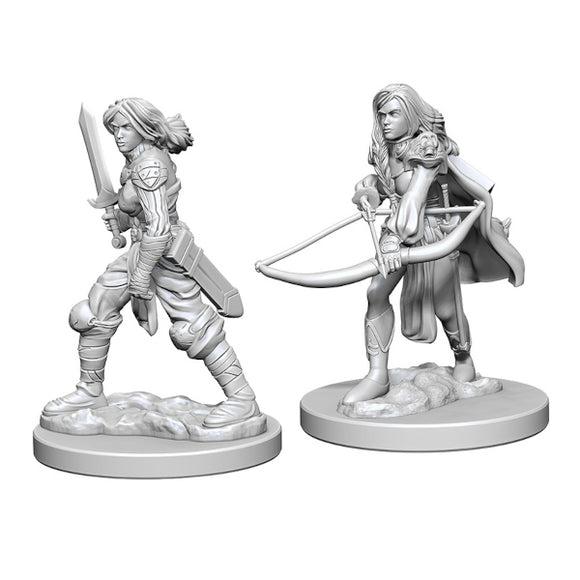 Pathfinder Deep Cuts Miniatures: Female Human Fighter (Wave 1)