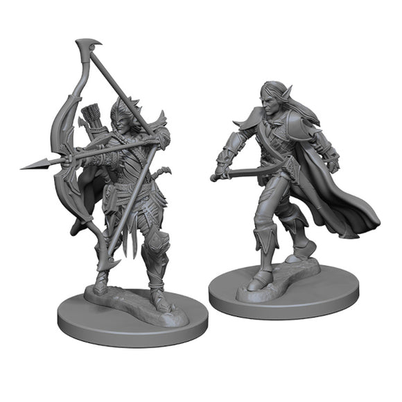 Pathfinder Deep Cuts Miniatures: Male Elf Fighter (Wave 1)