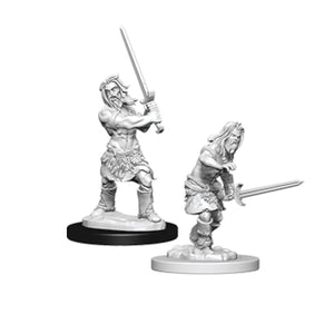 Pathfinder Deep Cuts Miniatures: Male Human Barbarian (Wave 6)
