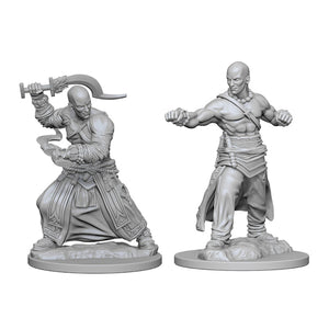 Pathfinder Deep Cuts Miniatures: Male Human Monk (Wave 1)