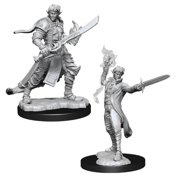 Pathfinder Deep Cuts Miniatures: Male Elf Magus (Wave 11)