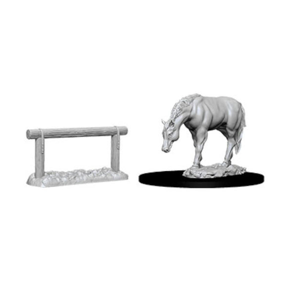 Pathfinder WizKids Deep Cuts: Horse & Hitch (Wave 10)