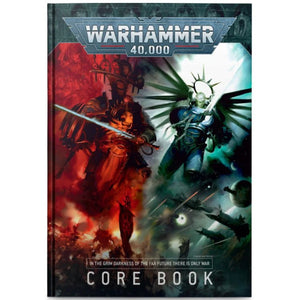 Warhammer 40K: 9th Edition Core Rulebook (Hardcover)