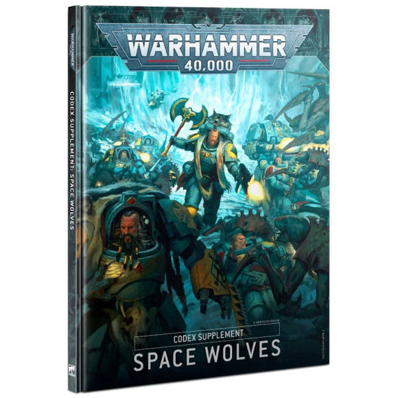 Warhammer 40K: Codex Supplement - Space Wolves (Hardback)