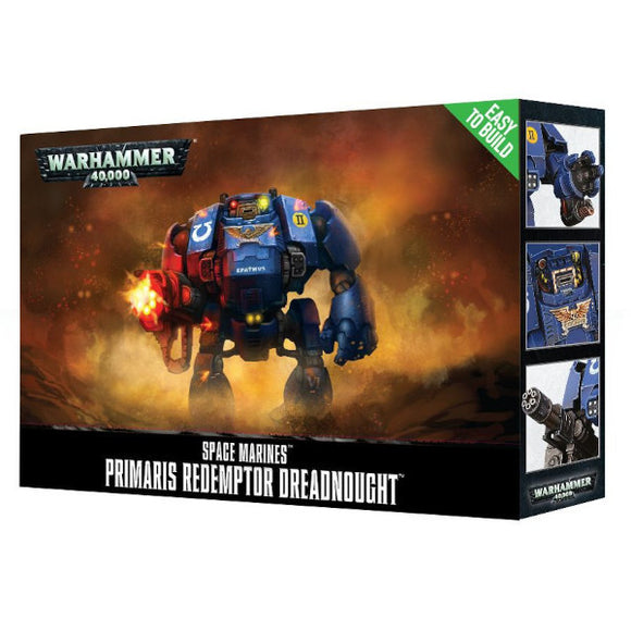 Warhammer 40K: Easy To Build Primaris Redemptor Dreadnought