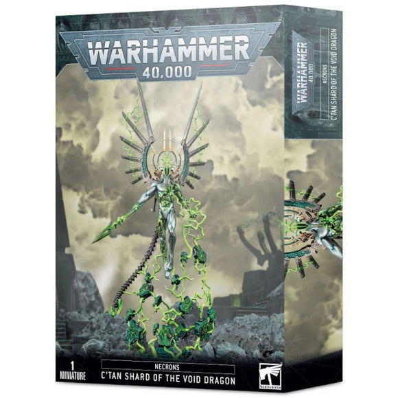 Warhammer 40K: Necrons C'tan Shard of The Void Dragon