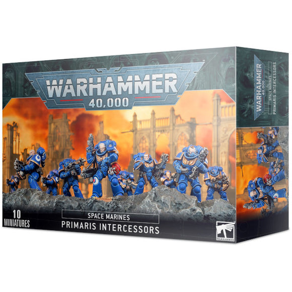 Warhammer 40K: Space Marines Primaris Intercessors