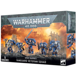 Warhammer 40K: Space Marines Vanguard Veteran Squad