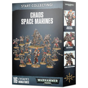 Warhammer 40K: Start Collecting! Chaos Space Marines