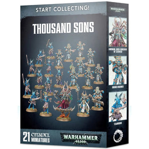 Warhammer 40K: Start Collecting! Thousand Sons