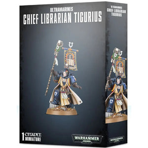 Warhammer 40K: Ultramarines Chief Librarian Tigurius