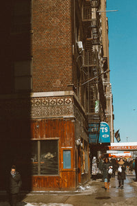 842 7th Avenue New York City Photographic Art Print