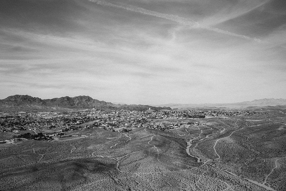 Boulder City B&W Photographic Art Print