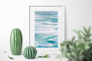 Crushing Waves Photographic Art Print