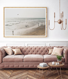 Beach Life Photographic Art Print