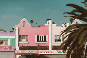 Pizza On Venice Photographic Art Print