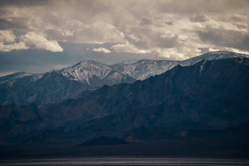 Snow Capped Mountains Photographic Art Print