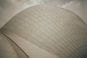Sydney Opera House Shell Photographic Art Print