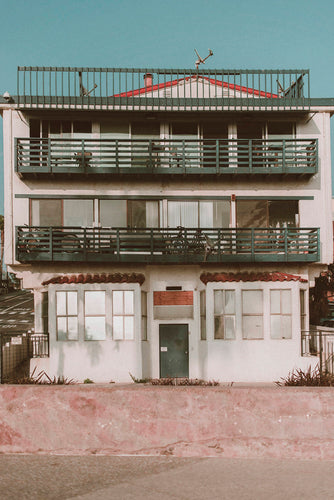 Venice Beach Shack Photographic Art Print