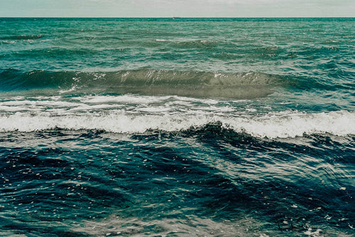 Waves Photographic Art Print