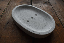 Load image into Gallery viewer, Black & Silver Granite Drainage Dish